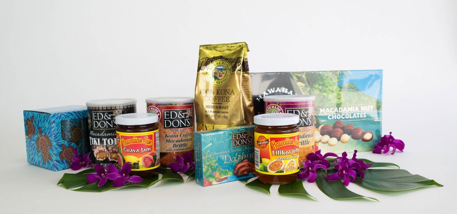 Hawaiian Gift Baskets - With Our Aloha