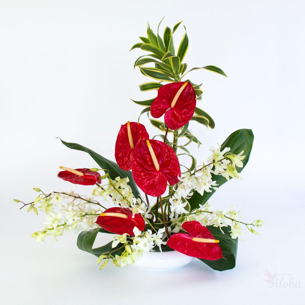 Aloha Love Hawaiian Flower Assortments
