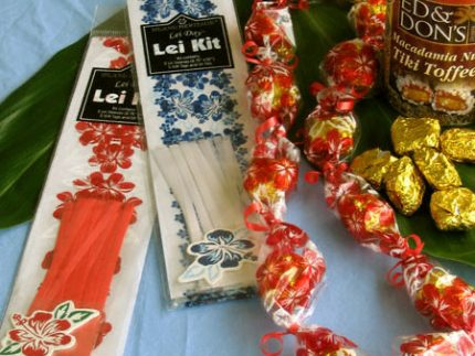 candy lei kit - DIY