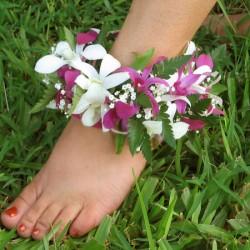 Hawaiian.anklet.haku.lei