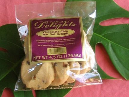 Hawaiian chocolate chip .cookies