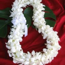 Hawaiian.wedding.lei
