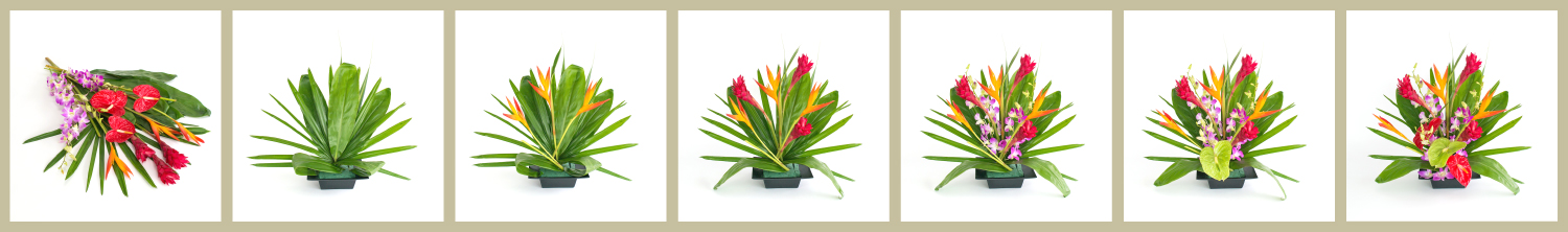 DIY.arrange.tropical.ginger.heliconia