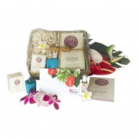 Gardenia Spa Gift Basket made in Hawaii