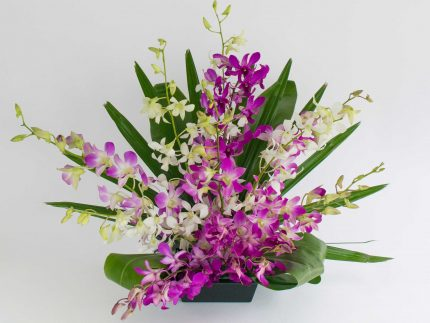 Hawaiian orchids sprays - With Our Aloha