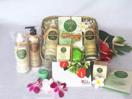 Hawaiian Spa Natural Gift Basket