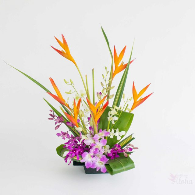 makana aloha flowers - With Our Aloha