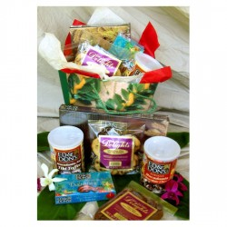Hawaiian chocolate lover's gift bag - With Our Aloha