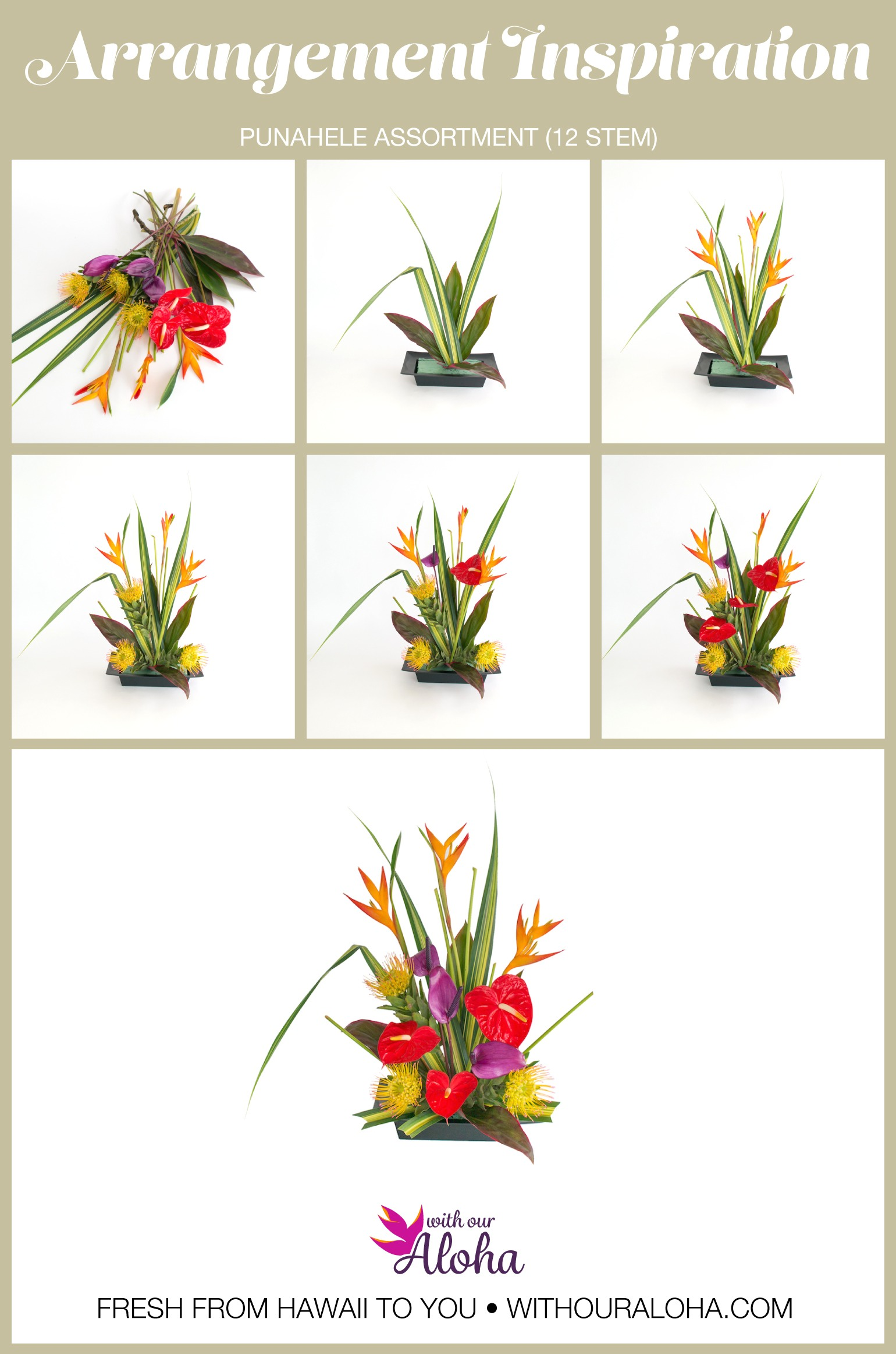 DIY Favorite Hawaiian Flowers - With Our Aloha
