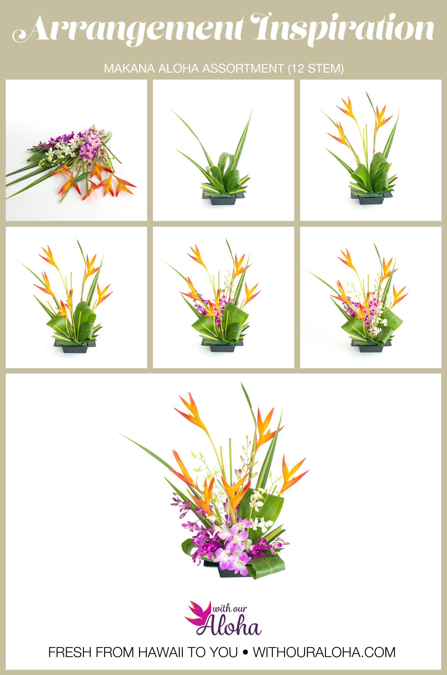 Hawaiian Flower Gift DIY - With Our Aloha