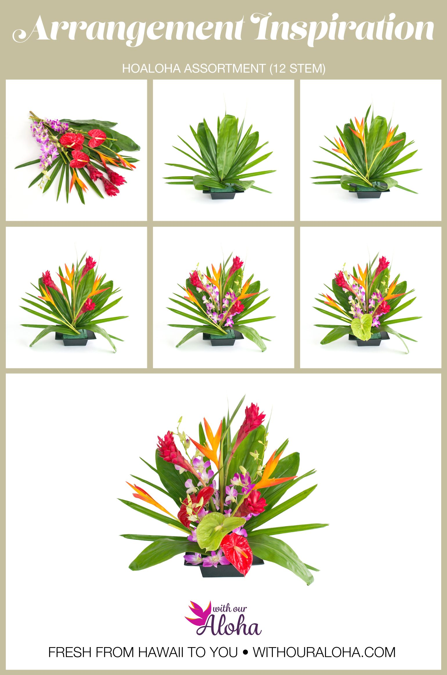 How to Arrange Hawaiian Flowers - With Our Aloha