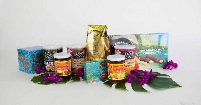 Hawaiian chocolate and coffee for corporate giving