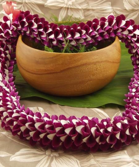 Akaka Lei Hawaiian orchid leu