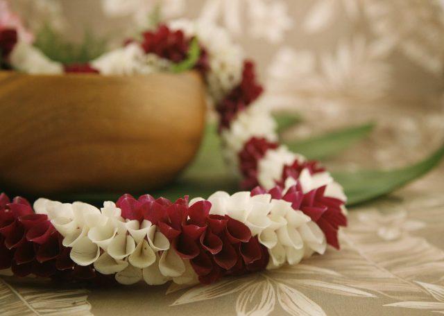 Roberta Lei for Hawaiian weddings and graduation