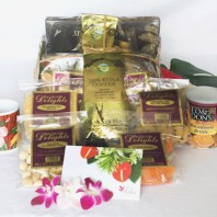 Hawaiian gift basket large