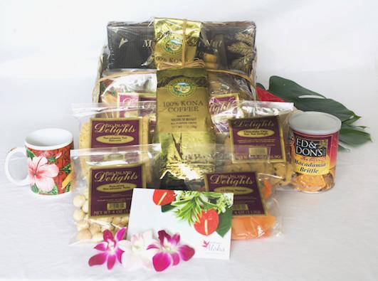 Hawaiian gift basket large