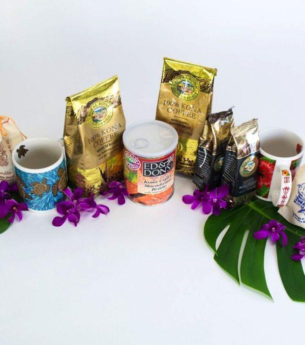 Kona coffee products